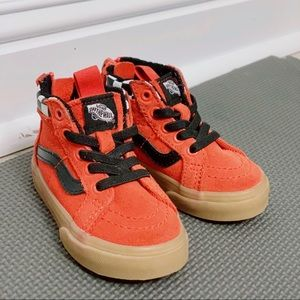 Toddler Vans high tops size 4.5